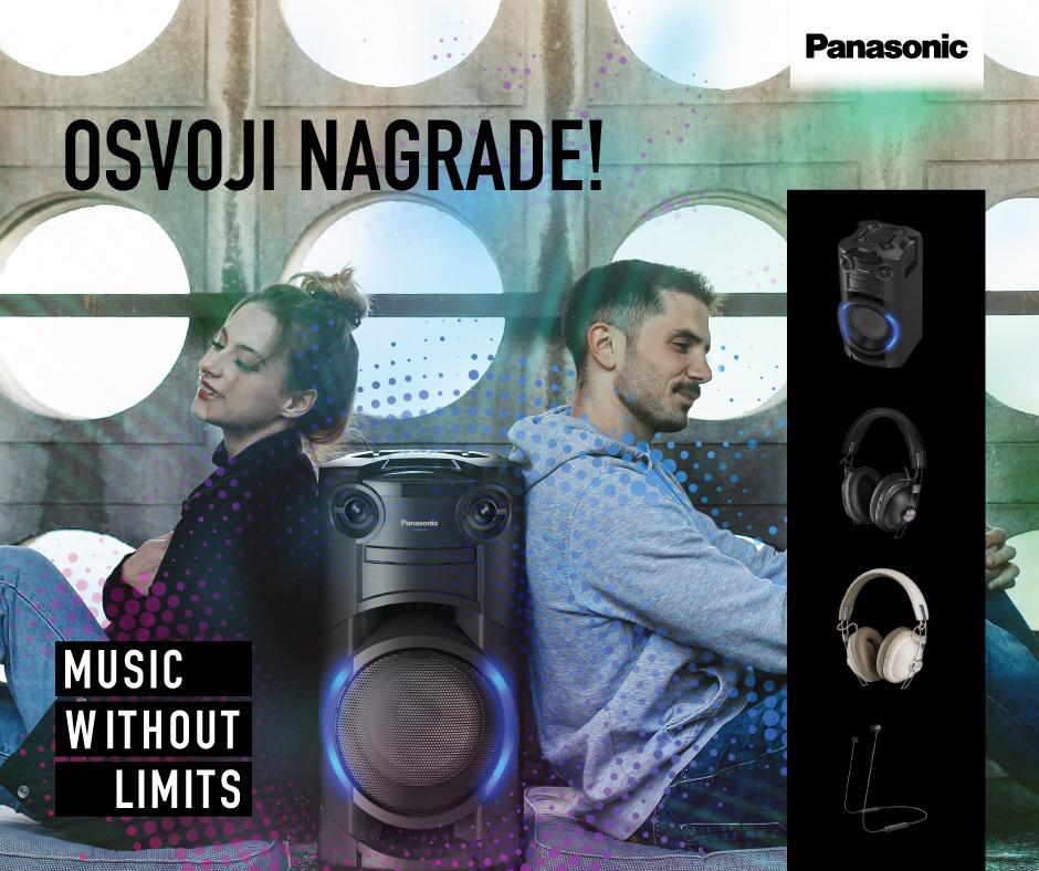 Osvoji Panasonicove slušalice ili zvučnik TMAX!